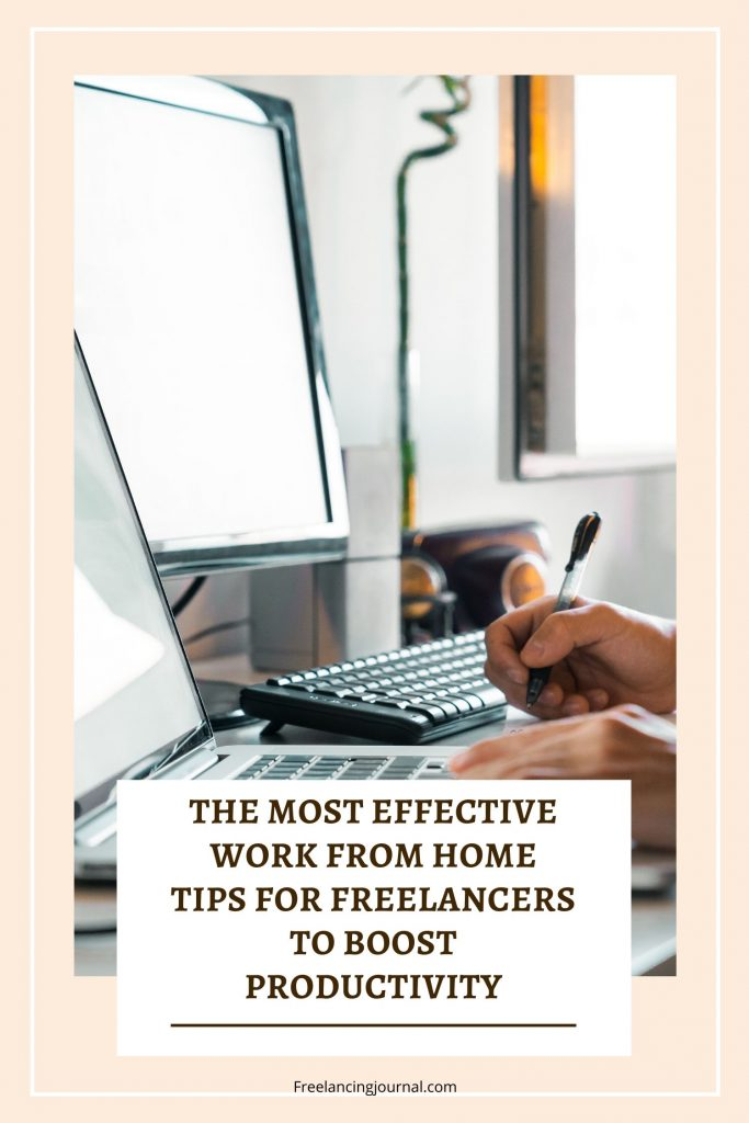 Work from Home Tips for Freelancers To Boost Productivity