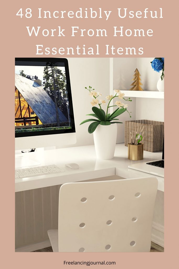 48 Incredibly Useful Work From Home Essentials