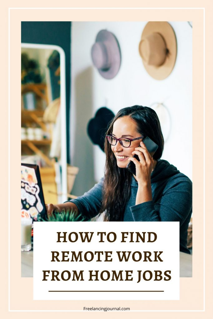 HOW To find remote work from home jobs