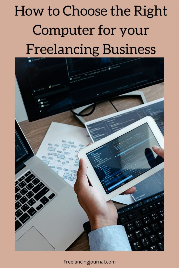 How to Choose the Right Computer for your Freelancing Business