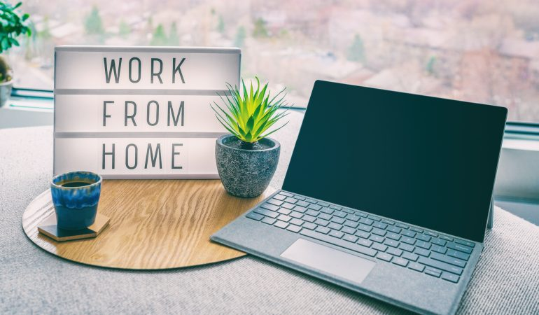 Working from home Amazon