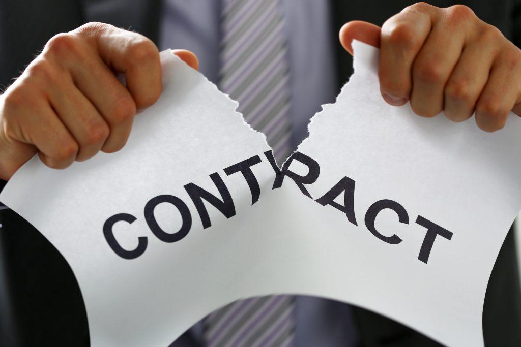 Terminate contract freelancer