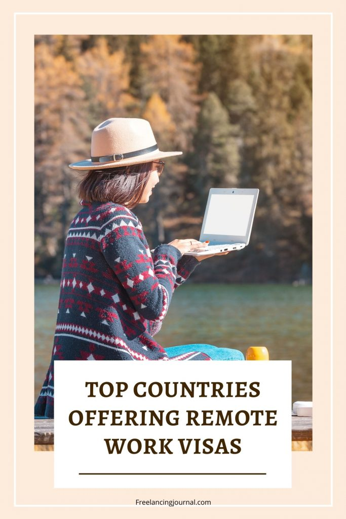 Countries offering Remote Work Visas